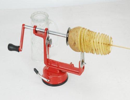 Mystyleshop Spiral Potato Chips Twister Stainless Steel Slicer Cutter Tornado