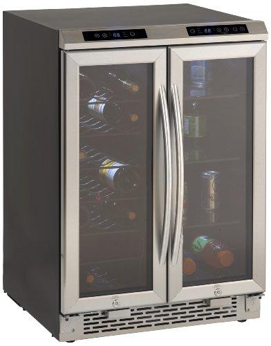 Avanti WBV19DZ Side by Side Dual Zone WineBeverage Cooler