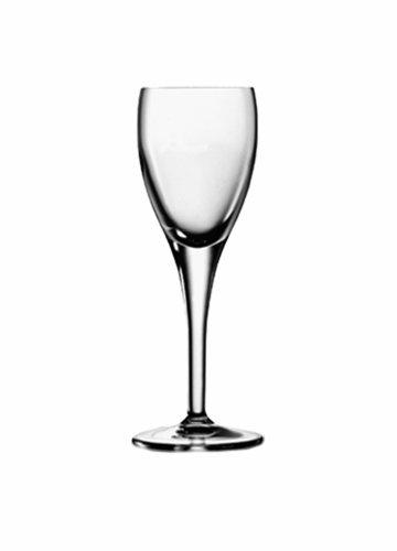 Luigi Bormioli 1036201 Michelangelo 225 oz Liqueur Glasses Set of 4 Clear