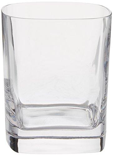 Luigi Bormioli us kitchen LUIG9 0983306 Strauss 1175 oz Double Old Fashion Glasses Set of 6 Clear