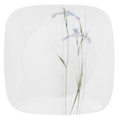 Corelle Square 10-14-Inch Dinner Plate Shadow Iris