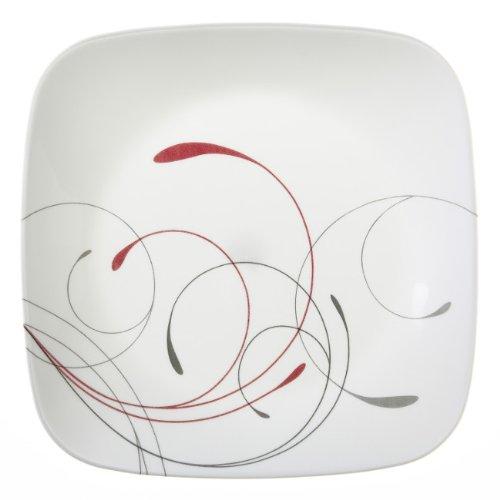 Corelle Square 875-Inch Lunch Plate Splendor Set of 6