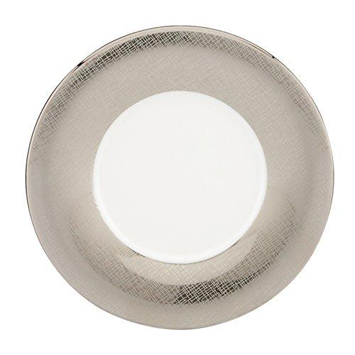 Lenox Donna Karan Platinum Voile Saucer Metallic