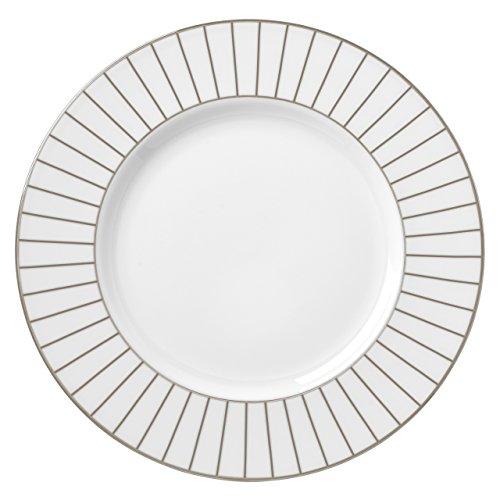 Lenox Platinum Onyx Accent Plate White