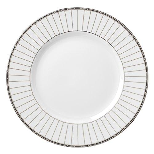 Lenox Platinum Onyx Dinner Plate White