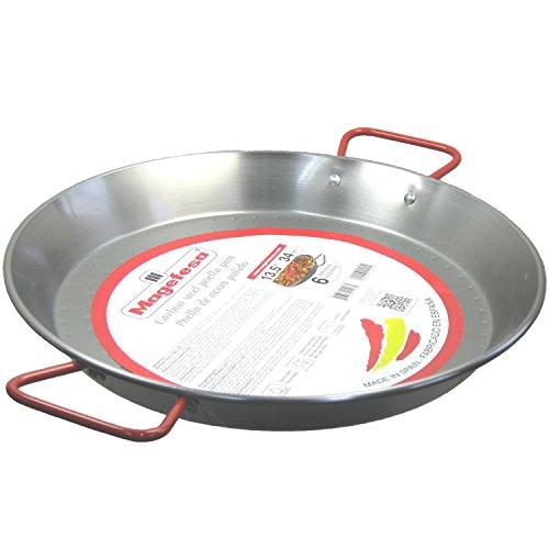 MageFesa Carbon Steel Paella Pan 135 Inch