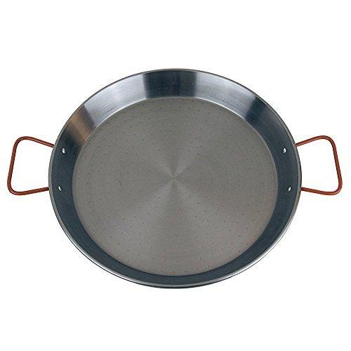 MageFesa Carbon Steel Paella Pan 15- 8 Servings