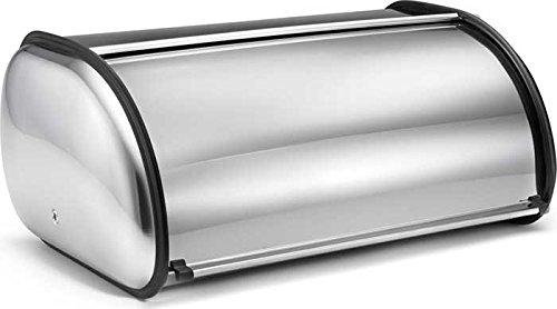 Polder 216204 Deluxe Bread Bin Stainless Steel 17 x 11 x 7