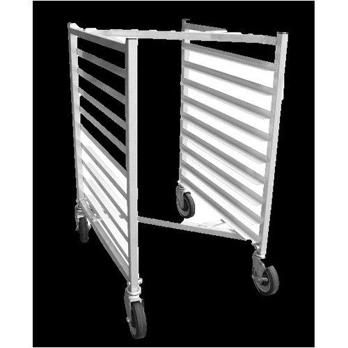 Half Size Nested Aluminum Bun Pan Rack with Z Frame