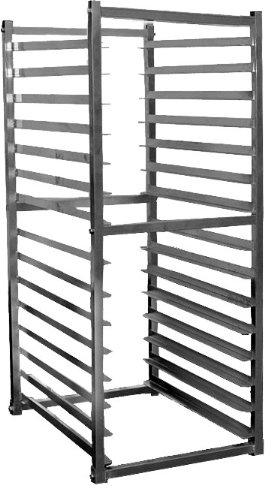 Knock-Down Aluminum Bun Pan Rack Specially built for refrigerator storage AAR-1520
