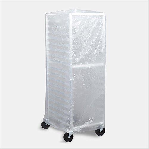 Tronex- Bun Pan Rack Covers High Density Polyethylene Satin Clear Case of 50 Covers