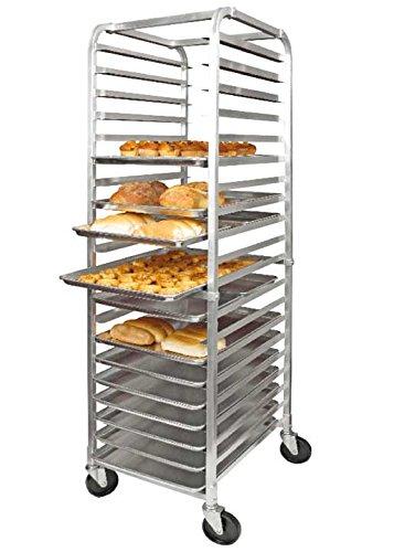 Winco-Bun Pan Rack 20 Slot and Cover for 20 Slot Bun Pan Rack Set