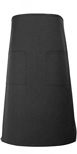 Black 2 Pocket Bistro Apron 31L By 305W