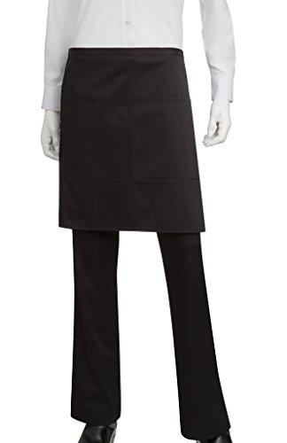 Chef Works Half Bistro Server Apron F28