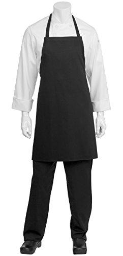 Bib Aprons-black-12 1dz Piece Pack-new Spun Poly-commercial Restaurant Kitchen