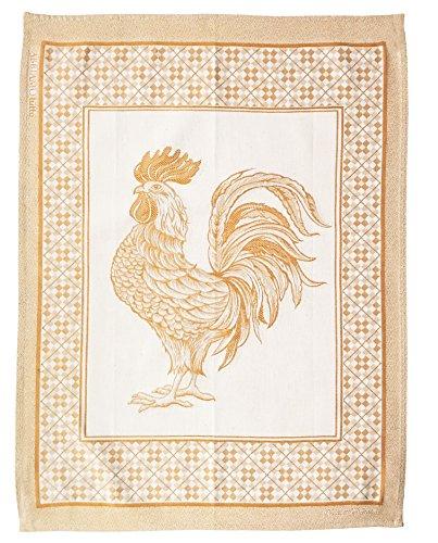 Abbiamo Tutto Tes-Galloyel Rooster Kitchen Towel Yellow