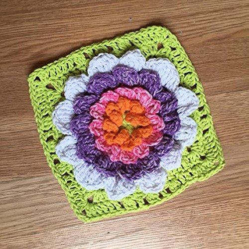 Flower Shaped Dish Cloth Crochet Flower Dish Cloth Crochet Dish Cloth