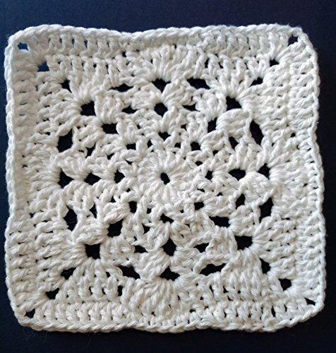 Snowflake pattern Hand Crochet Dishcloths