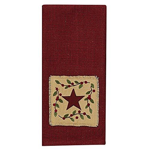 Christmas Star Decorative Dishtowel