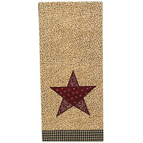 Country Star Decorative Dishtowel