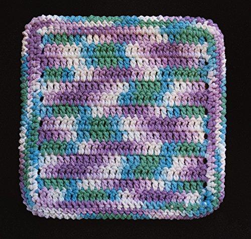 100 Cotton Dishcloth Washcloth Color BEACH BALL