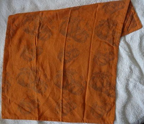 SUR LA TABLE Pumpkin Jacquard Kitchen Towel