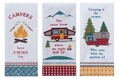 Kay Dee Designs Camping Life Kitchen Tea Towels Set of 3