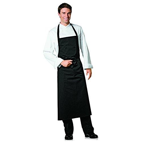 Bragard Professional Travel Bib Chef Apron Great for any Kitchen Cotton - Black  One Size