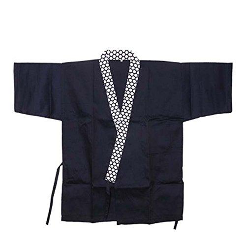 Japanese Sushi Bar Restaurant Bar Clothes Waiter Half Sleeve Uniform Chef Jacket 05
