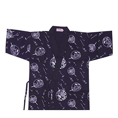 Japanese Sushi Bar Restaurant Bar Clothes Waiter Half Sleeve Uniform Chef Jacket 12