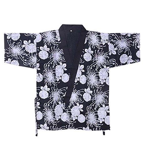 Japanese Sushi Bar Restaurant Bar Clothes Waiter Half Sleeve Uniform Chef Jacket 18