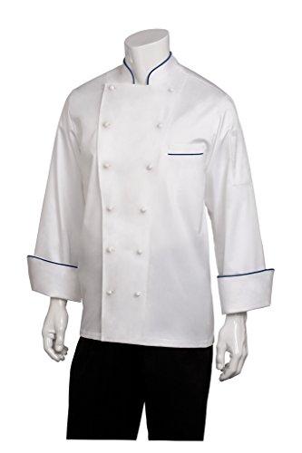 Chef Works Mens Carlton Executive Chef Coat ECCA
