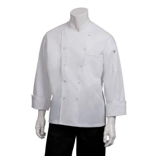 Chef Works Mens Lyon Executive Chef Coat EWCC