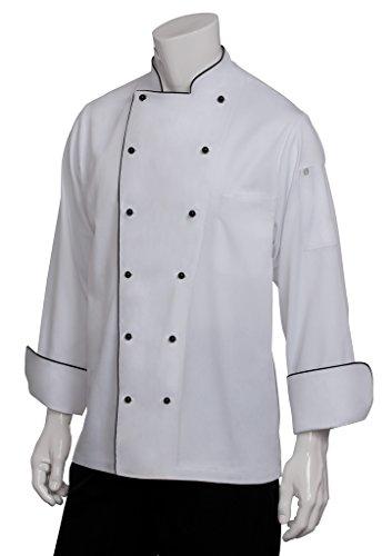 Chef Works Mens Newport Executive Chef Coat MICC
