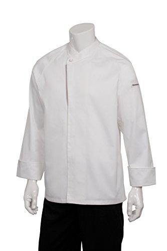 Chef Works Mens Trieste Executive Chef Coat ECRO