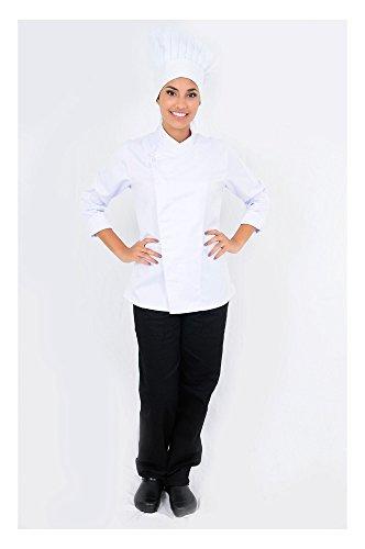 DAM UNIFORMS Women´s Long Sleeves Executive Chef Coat