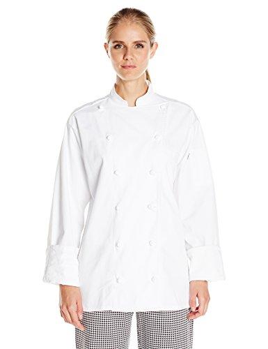 Uncommon Threads Unisex Executive Chef Coat White Large