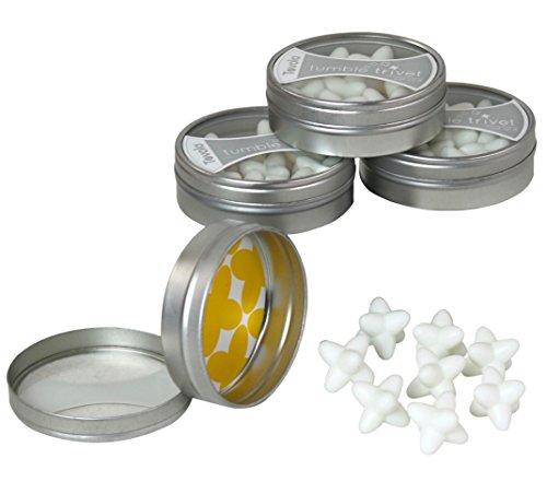 32 Piece Tovolo White Silicone Tumble Trivets Set