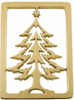 Jefferson Brass Christmas Tree Trivet