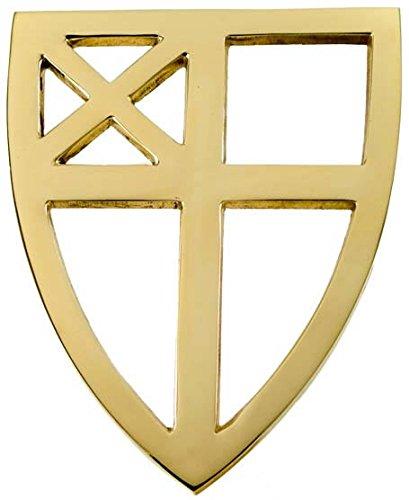 Jefferson Brass Episcopal Trivet Lacquered