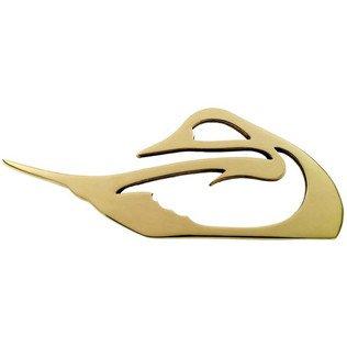 Jefferson Brass Pintail Duck Trivet