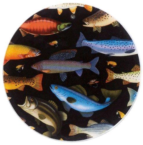 Andreas Silicone Trivet Fresh Fish 10 Inch