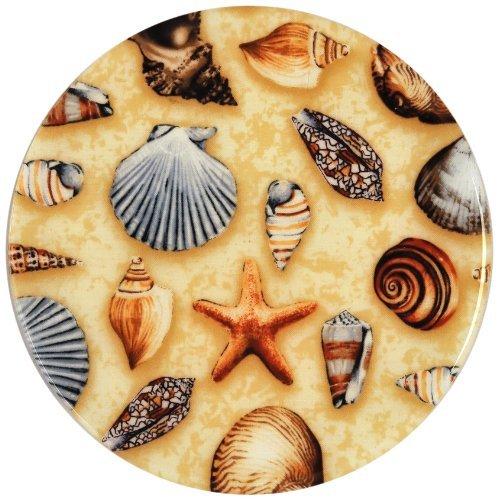 Andreas Silicone Trivet Sea Shells 10 Inch