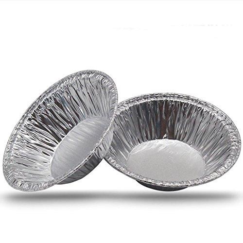 250 Pcs Disposable tin foil egg tart die Aluminum foil egg tart base Egg Tart Cup with Tart Bakeware Baking Tool