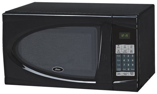 Oster Am930b 0.9-cubic Feet Countertop Microwave Oven, 900-watt, Black