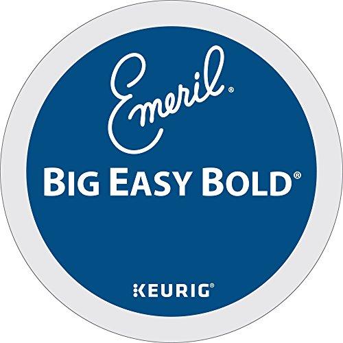 Emerils Big Easy Bold Coffee Keurig Single-Serve K-Cup Pods Dark Roast Coffee 24 Count