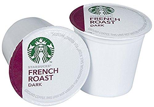 Starbucks French Roast Dark K-Cup for Keurig Brewers Dark Roast Coffee 108 Count