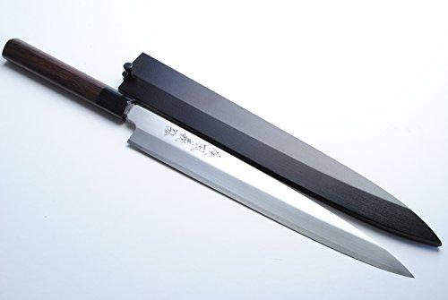 Yoshihiro VGYA300SH Stainless Hongasumi Yanagi Sushi Sashimi Japanese Chef knife 118 Rosewood