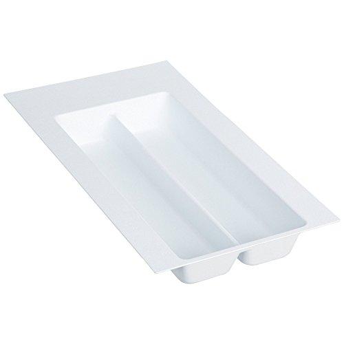 Rev-A-Shelf - GUT-10W-52 - Small Glossy White Cutlery Tray Drawer Insert