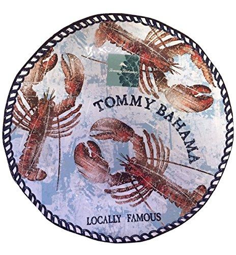 Tommy Bahama Lobster Print Large Melamine Serving Platter